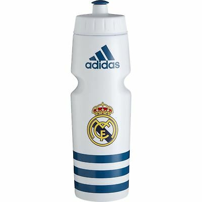 Real Madrid Water Bottle White Mens adidas