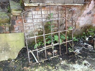 Cast Iron Vintage Industrial 24 Pane Window Frame