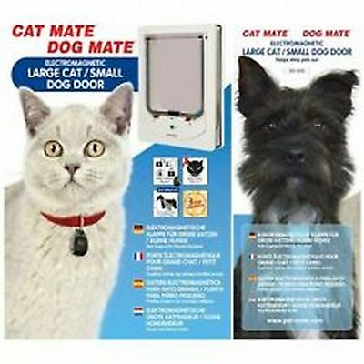 Pet Mate Cat Mate Electromagnetic Large Cat/Small Dog Door
