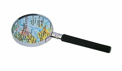 Hand Magnifier Reading Magnifying Glass Aid 90mm Ø 3x Magnification