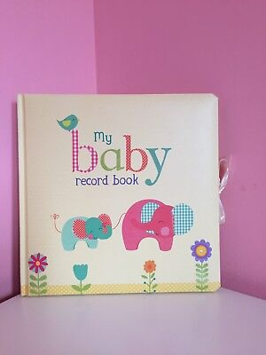 Baby Record Book Keepsake gift