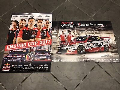 Gisbergen Whincup Lowndes 2017 888 Holden VF Commodore Enduro Posters
