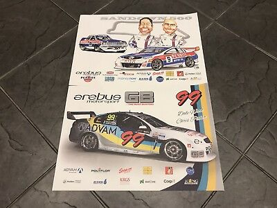 Reynolds Wood 2017 Erebus Motorsport Holden VF Commodore Enduro Posters