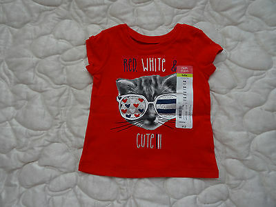 Baby Top Red  9 Months   New Nwt