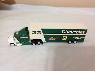Food Lion Chevrolet Diecast Tractor Plastic Trailer Harry Gant Racing