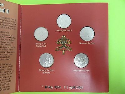 2005 Pope John Paul Ii Memorial Coin Set