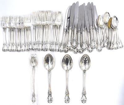 61 Piece Towle Old Master Sterling Flatware Set Service For 14 No Monograms