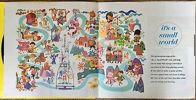 WALT DISNEY PRESENTS - It's A Small World (LP) & Book in excellent condition