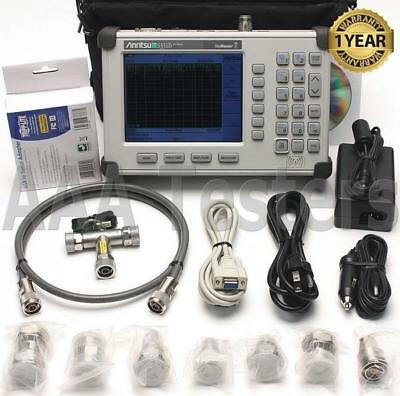Anritsu S331D SiteMaster Cable & Antenna Analyzer Opt3 Color Screen 7/16 Din Kit