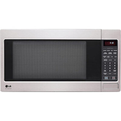 LG LSRM2010ST 2.0 Cu Ft Counter Top Microwave Oven Easy Clean, Stainless Steel