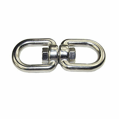 Swivel Shackle Eye/Eye, M10, for Punching Bag Suspension Stainless Steel V4A
