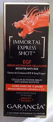 Garancia Immortal Express Shot Egf Serum Activateur Celullaire Neuf 15 Ml