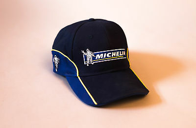 Official Michelin Tyres Motorsport Merchandise Adjustable Navy Reflex Blue Cap