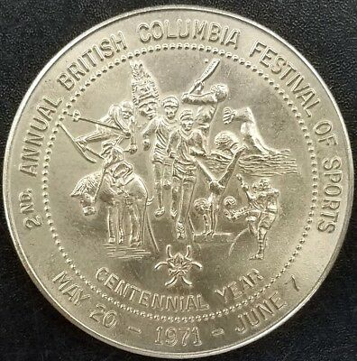 1971 2nd Annual British Columbia Festival of Sports, Good for One Dollar! 32 mm!