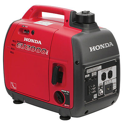 HONDA EU2000i Super Quiet Generator - FREE SHIPPING in lower 48, PR not included