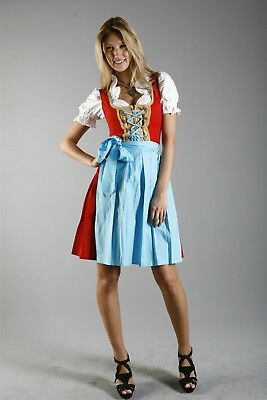 Beautiful women's dirndl dress size 38 knee length from germany