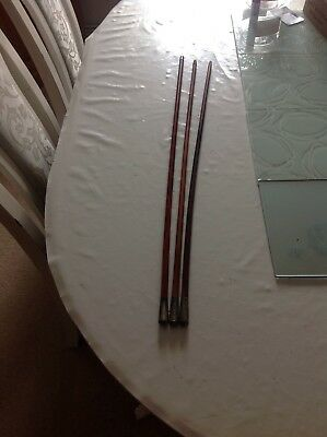 3 X Swagger Sticks2x Royal Marines & 1 Silver One