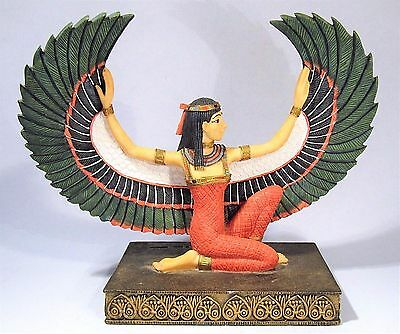Veronese Ancient Egypt Winged Goddess Isis Sculpture Egyptian Revival Art Deco