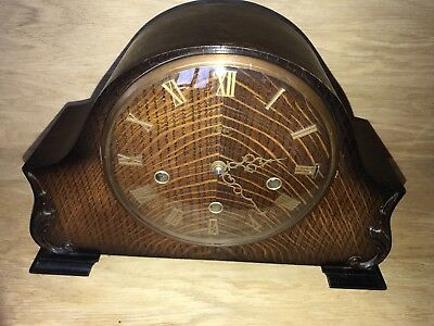 Vintage Art Deco 'Smiths Enfield' Mantel Clock with Chimes