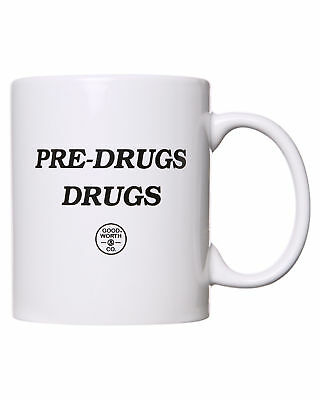 New Good Worth Pre Drugs Mug Loundge Living Room White
