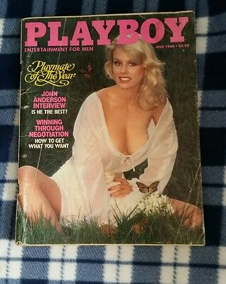 Playboy JUNE 1980 Playmate of the Year Free shipping