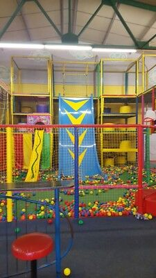 Large Soft Play Frame used, everything you need to start your business