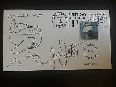 Joe Sutter Signed FDC Boeing 747 First Day Cover
