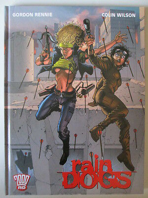 Rain Dogs 2000 AD Horror Sci fi Graphic Novel Comic Hardback Book First 2002 NEW