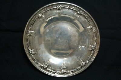 "Towle Georgian 54201 Solid Sterling Silver 10"" Plate Platter Ornate - 337g"