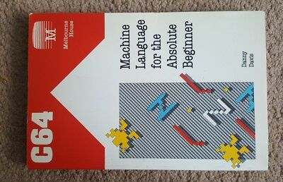 Machine Language for the Absolute Beginner Commodore 64 Melbourne House Book
