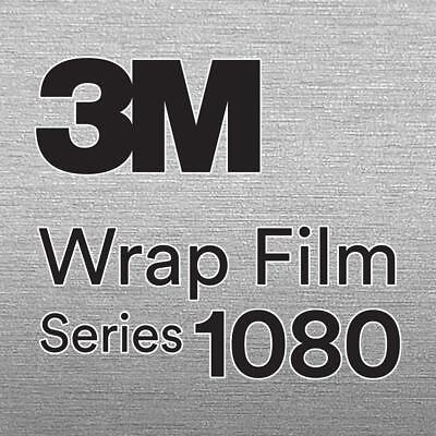 All Colors 3M Vinyl 1080 Gloss Specialty Series Car Wrap Sample 2.5in x 4in