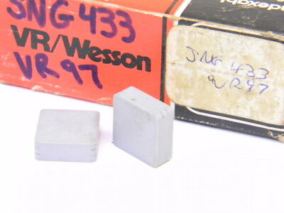 New Surplus 6Pcs. Vr/wesson Sng 433  Grade: Vr97  Ceramic Inserts