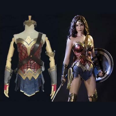 Halloween Wonder Woman Diana Prince Complete Outfit Cosplay Costume