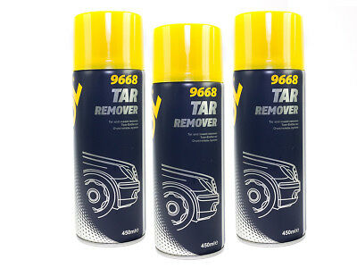 Mannol Tar Remover TAR REMOVER SOLVENT REMOVER 3 Piece â 450 ml