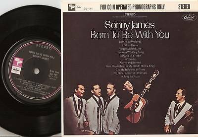 "Sonny James Born To Be With You  7"" Lp 1968 Country"