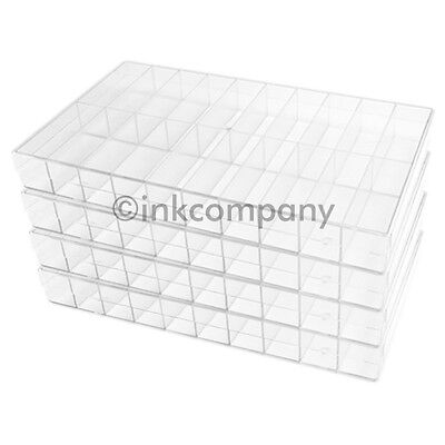 4x 20s SORTING BOX SORTING BOXES BOX transparent new