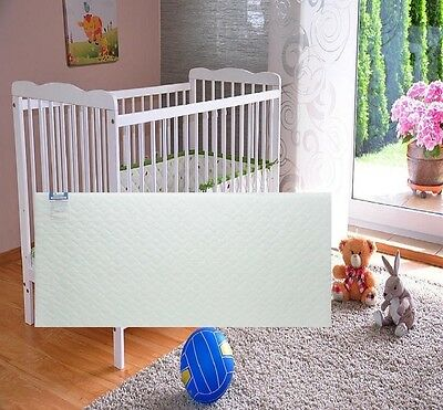 Crib Matress Soft Breathable Quilted Baby Swinging Water Resistant 90 x 40 x 4CM