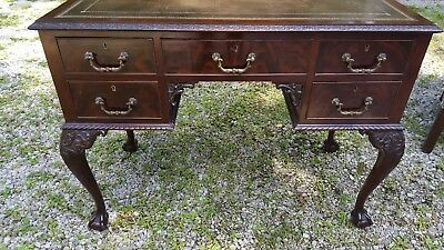 Antique Chippendale Ball & Claw Desk c. 1800
