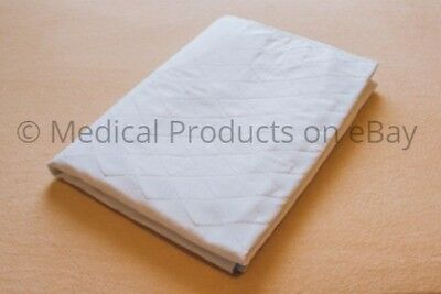 3 NEW BED PADS REUSABLE UNDERPADS 18x24 HOSPITAL MEDICAL INCONTINENCE WASHABLE