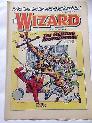 DC Thompson. THE WIZARD Comic February 24th 1962. Issue 1880 *Free UK Postage*