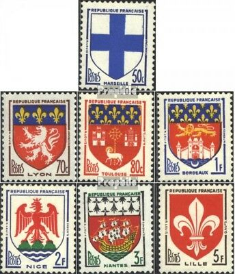 France 1217-1223 (complete issue) unmounted mint / never hinged 1959 Crest