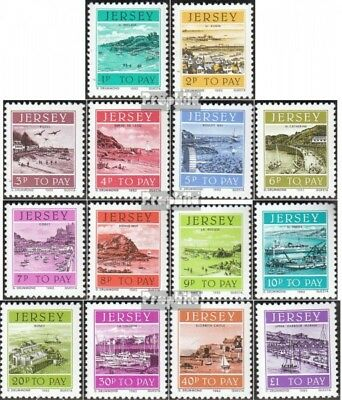 united kingdom-Jersey P33-P46 (complete issue) unmounted mint / never hinged 198