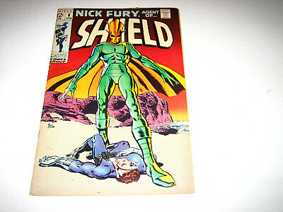 Nick Fury Agent of Shield #8 VG