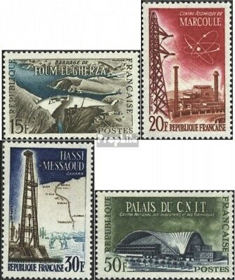France 1247-1250 (complete issue) unmounted mint / never hinged 1959 Architectur