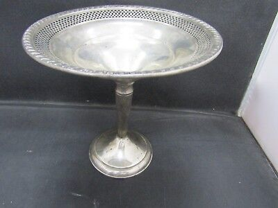 Weighted Sterling Silver Compote Bowl 217.86 Grams