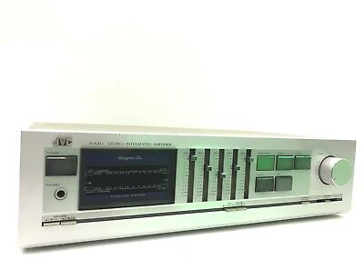 YAMAHA NATURAL SOUND STEREO AMPLIFIER AX-396 120 Watts Working 100% Like New