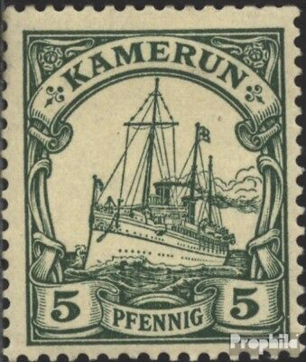 Cameroon (German. Colony) 8 used 1900 Ship Imperial Yacht Hohen