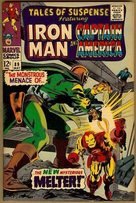 Tales Of Suspense # 89 - Iron Man Captain America - Red Skull Appearance - 8.0