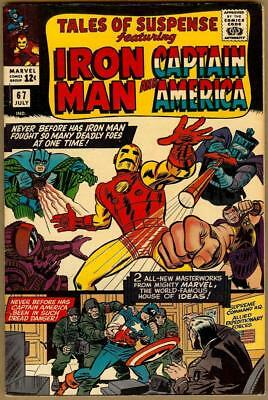 Tales Of Suspense #67 - Iron Man - Red Skull And Hitler Appearance - 7.5