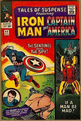 Tales Of Suspense #68 - Iron Man Captain America - Red Skull Appearance - 7.5
